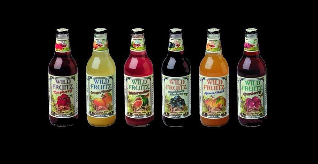 first_6_flavors_bottle_design_for_wild_fruitz_beverages
